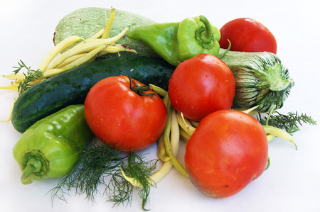 boozer: summer vegetables Stock Photo
