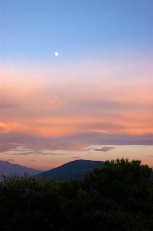 palate: evening sky