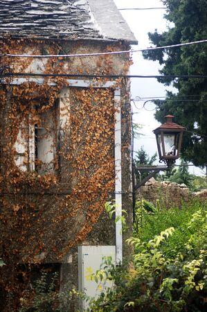 Detail of a house in Trebinje
