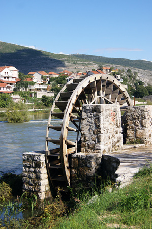 water wheel: Water Wheel in Trebinje