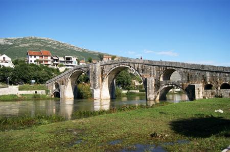 effluent: Arslanagich Bridge in Trebinje