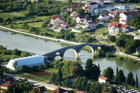housetop: View of the bridge in Trebinje