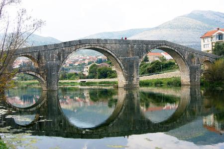 lithic: Arslanagich Bridge, Trebinje Stock Photo