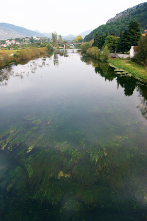 herzegovina: Trebisnjica river, Bosnia and Herzegovina Stock Photo