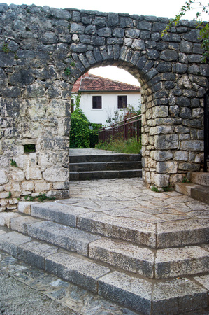 lithic: Gate into the old town of Trebinje