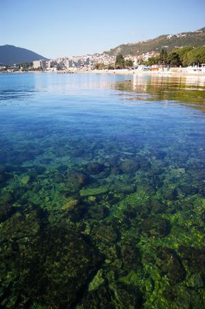 montenegro: View of Igalo, Montenegro