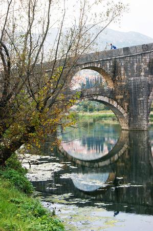 lithic: Detail of a bridge in Trebinje