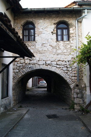 ancient pass: Arched passage in Trebinje