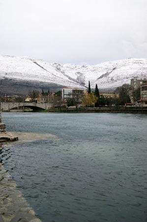 effluent: View of winter Trebinje
