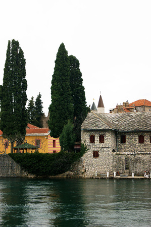 lithic: The coastal part of the old city of Trebinje
