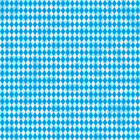 wiesn: Seamless Oktoberfest and Bavarian flag pattern or background with light effect color
