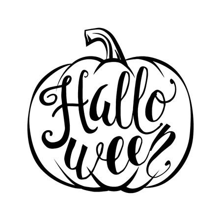 Ilustración De La Tarjeta De Felicitación De Halloween Feliz Con La ...