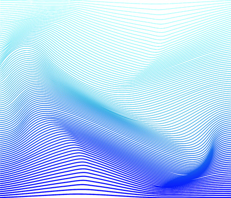 Vector illustration of blue striped surface abstract background Illustration
