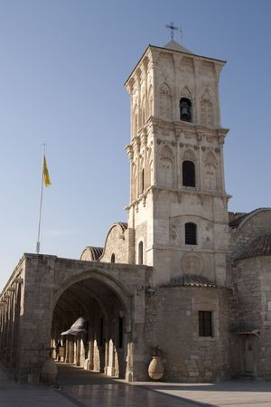 lazarus: The old church of Saint Lazarus in the city of Larnaca, Cyprus