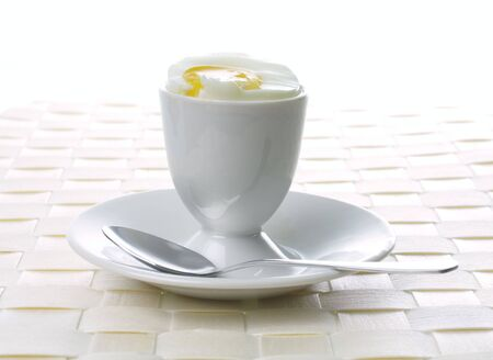 eggcup and  spoon