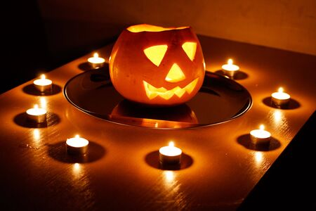 Halloween, pumpkin. Stock Photo