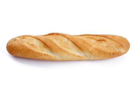 baguette over white