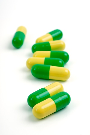 medical tablets, studio isolated