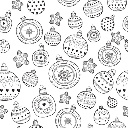 Vector pattern new year Vector