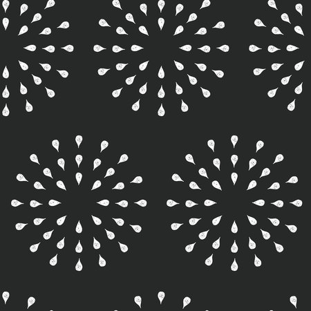 fash: Sunburst background, ink hand drawn pattern, seamless doodle background, chalkboard retro vector pattern, abstract illustration