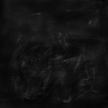 billboard blank: Vector Black chalkboard background, blank chalkboard, blackboard, template for your design
