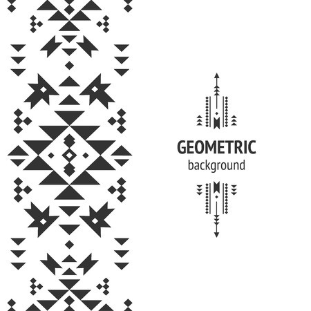 Vector Geometric background Reklamní fotografie - 40317284