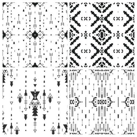 tribal: Vector Geometric background