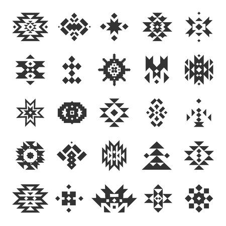 Vector abstract elementi geometrici Archivio Fotografico - 40318117