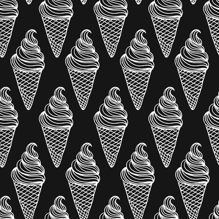 product background: Vector ice cream background