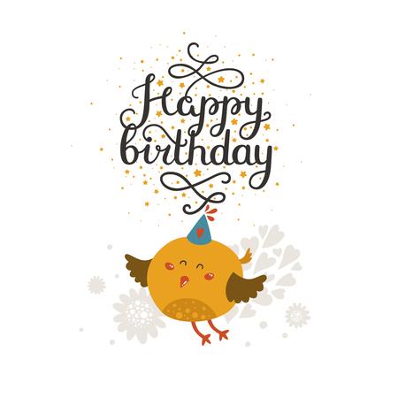 Animal Card Happy Birthday Card Kids Birthday Party Animal