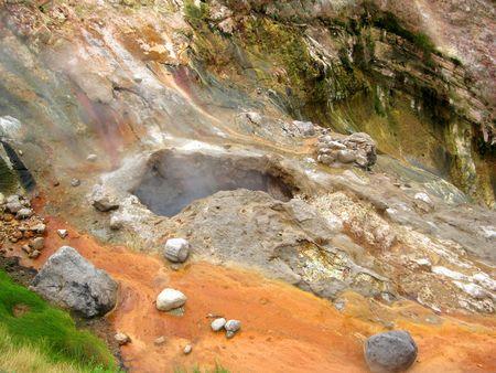 hot temper: Valle de los Geysers