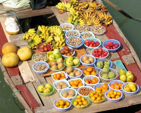 earthnuts: Exotic fruits