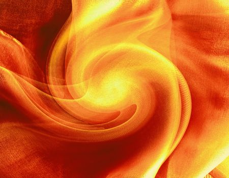Fire vortex, abstraction   Stock Photo