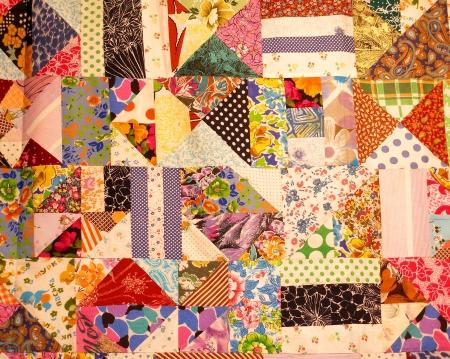 patchwork quilt: Patchwork