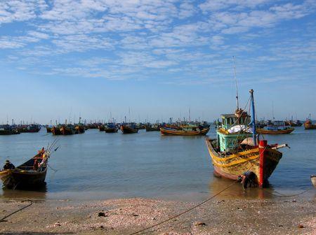 Asian boats photo