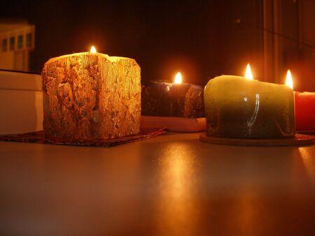 alight: Alight candles