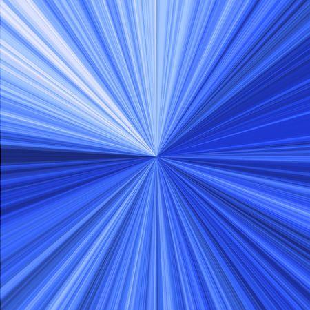 irradiation: Blue infinity Stock Photo