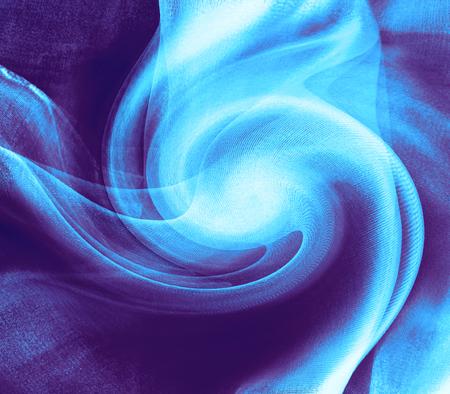 Blue vortex - illustration      Stock Photo