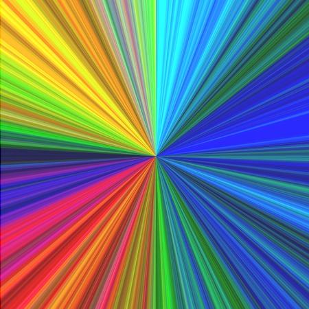 gleams: Multicolored infinity