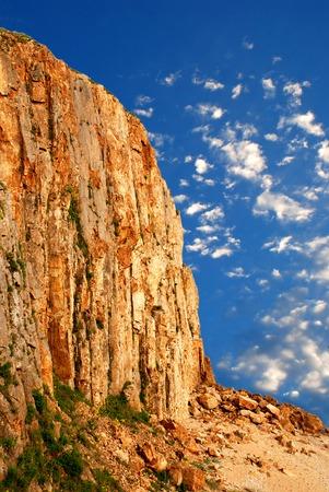 Cliff, Russia Stock Photo - 1637584
