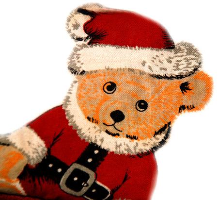 Christmas bear photo