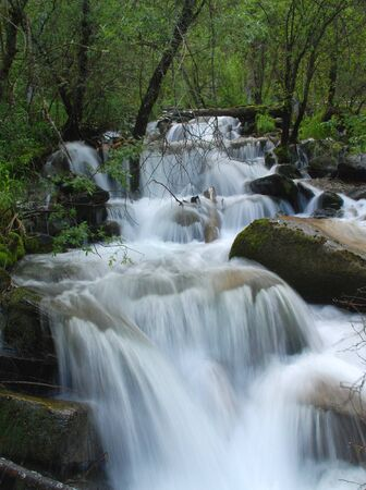 trickles: Waterfall