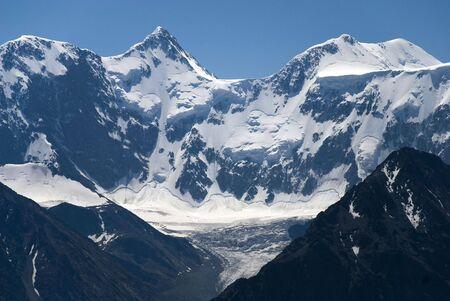 Belukha mountain 4506m, Altai, Russia Stock Photo - 1885574