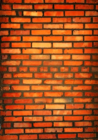 New brick wall photo