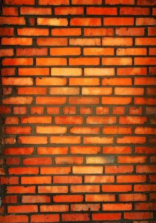ondulation: Nouveau mur de briques