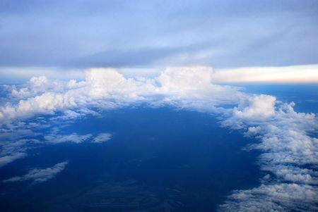 strahlenkranz: Airview Cloudscape