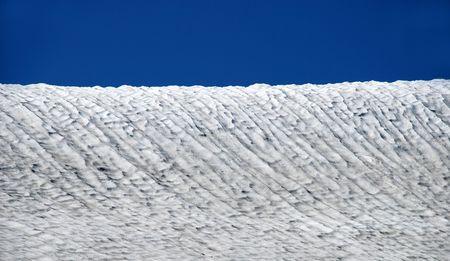 Snowy field, mountain, winter background Stock Photo - 2166466