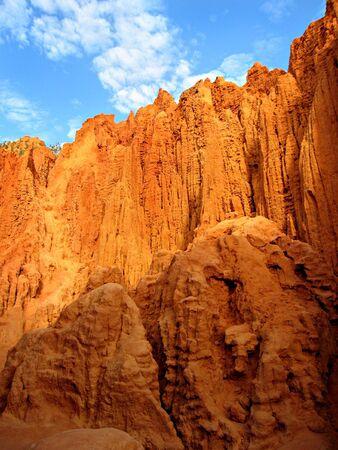 Red rocks, canyon, Vietnam photo