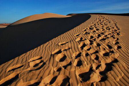 Sand desert Stock Photo - 2706917