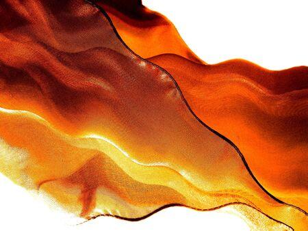 Fiery flying silk photo